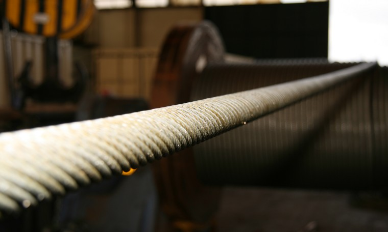 Optimal wire rope lubrication!
